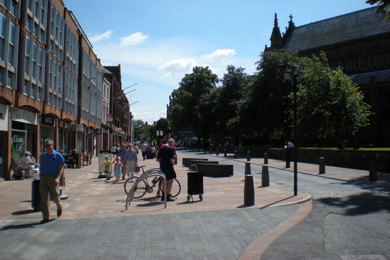 Carlisle Town Centre