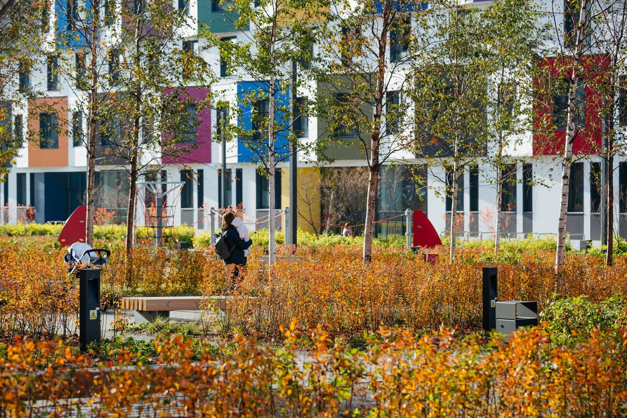 PIK 开发集团绿色公园社区,莫斯科