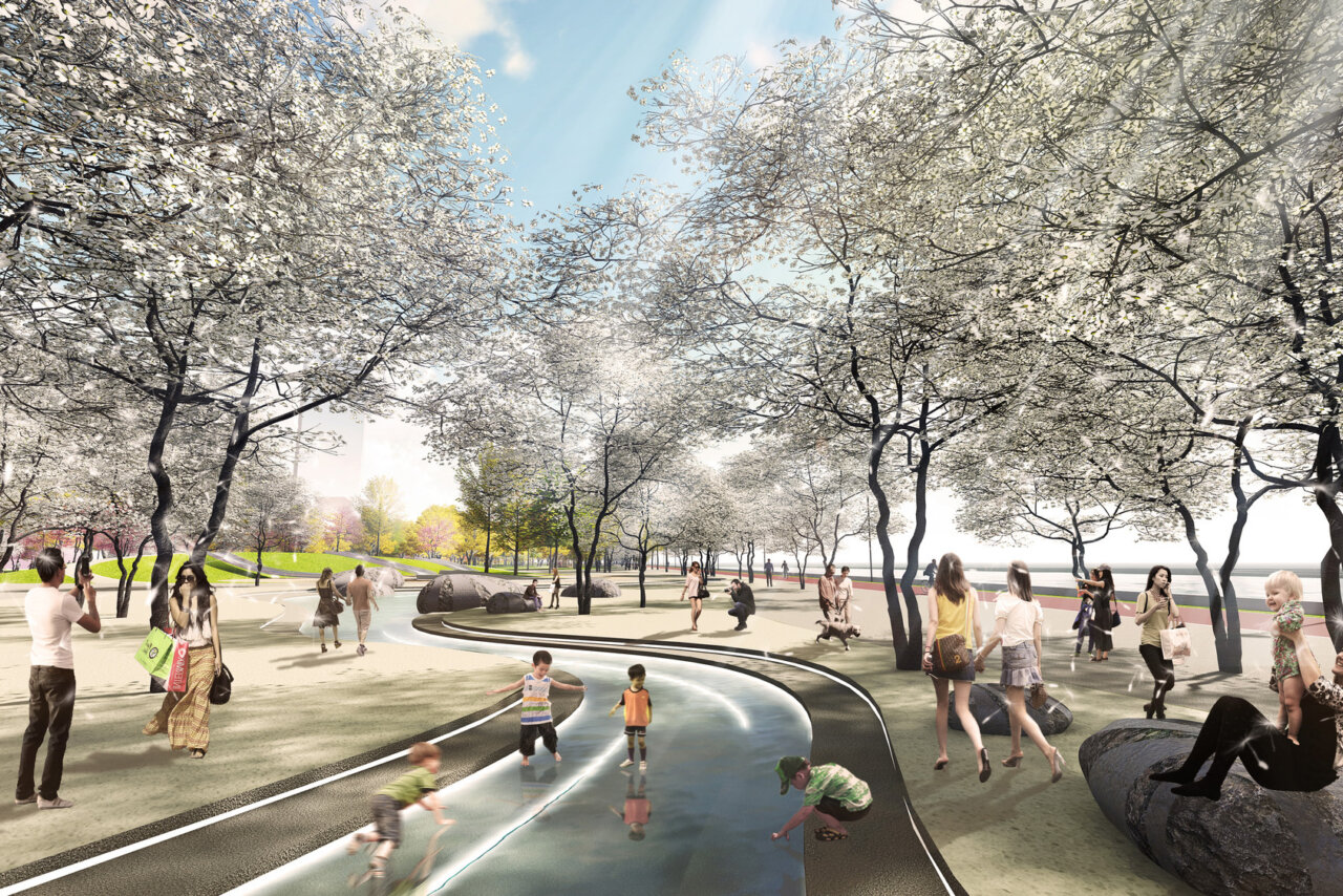 Nanjing Hexi Park Competition