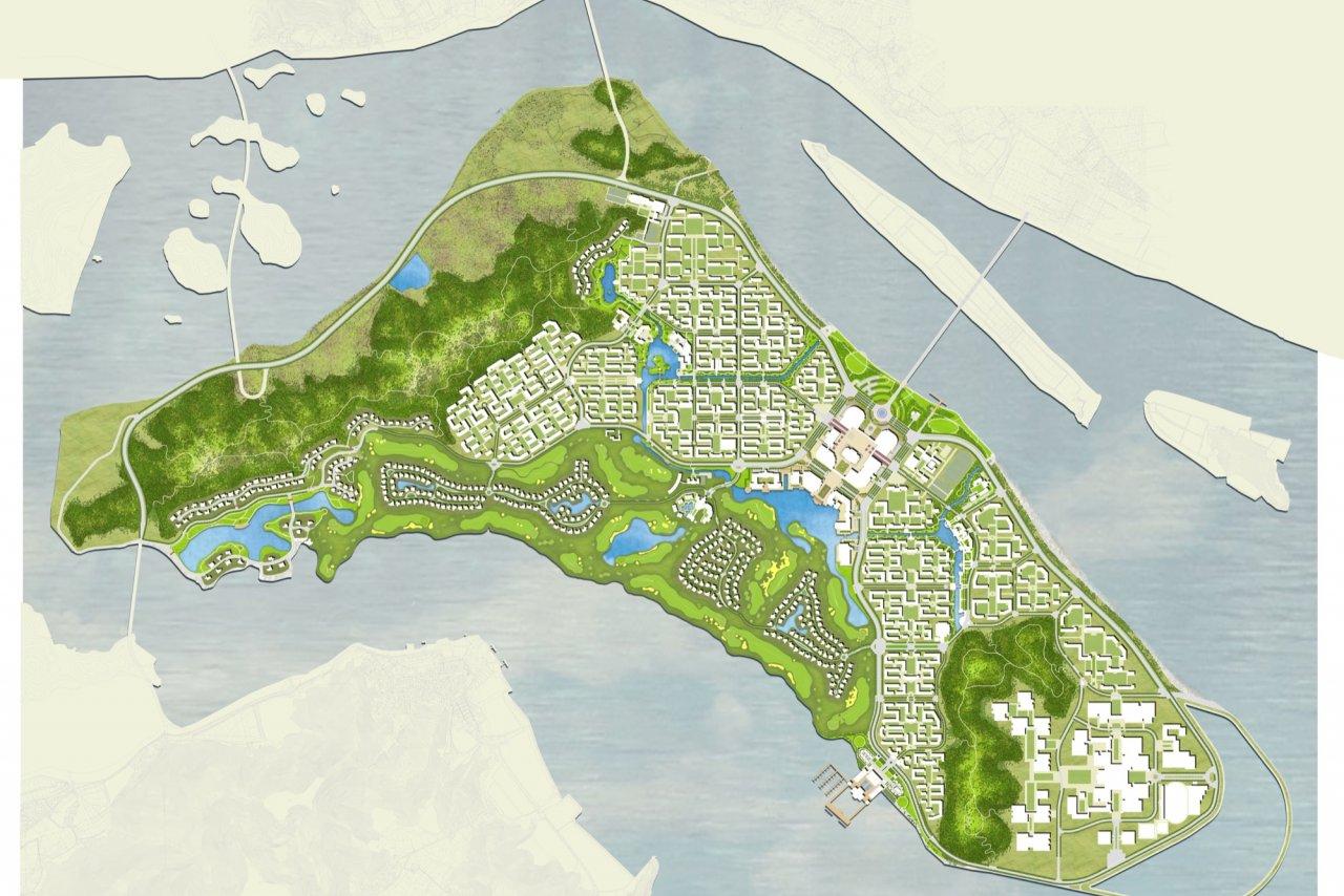 Changzhi Island Masterplan