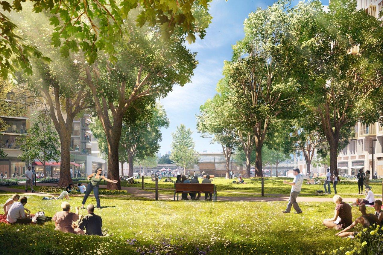 大象公园,伦敦