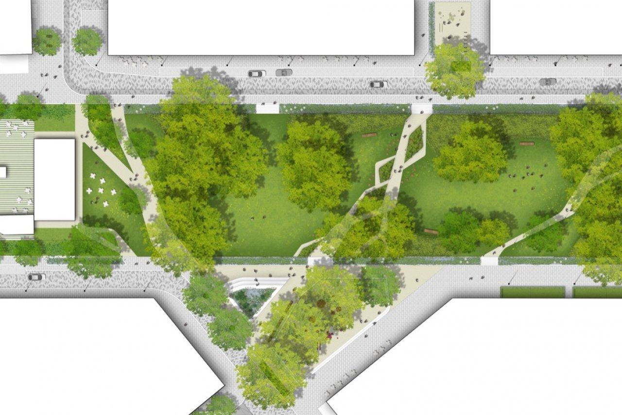 Elephant Park Masterplan