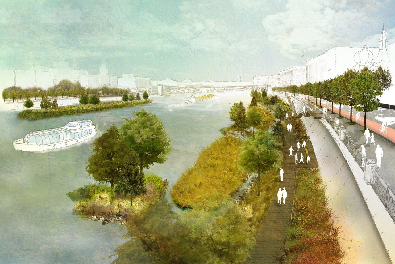 Конкурс «Москва река», Россия
