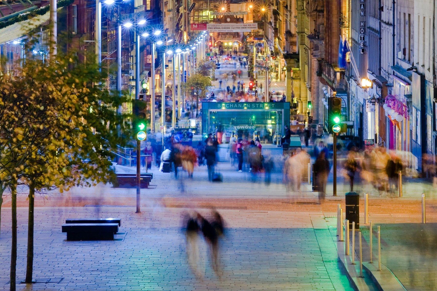 Бьюкенен-стрит, Глазго, Великобритания