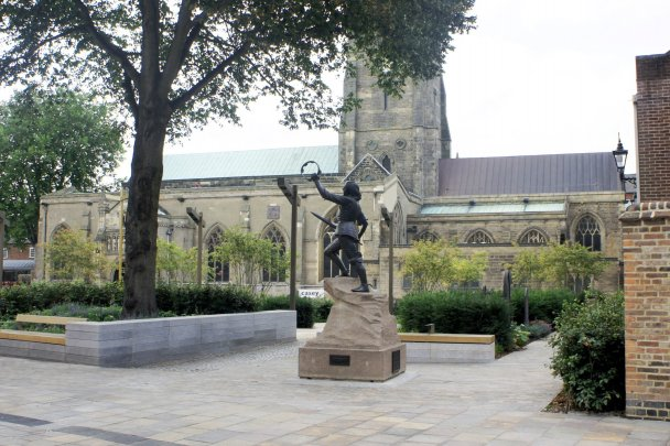 Leicester Cathedral Gardens