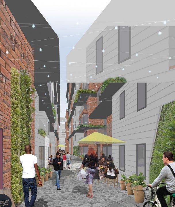 St. John's Neighbourhood - Public Realm Strategy & Planning Applications