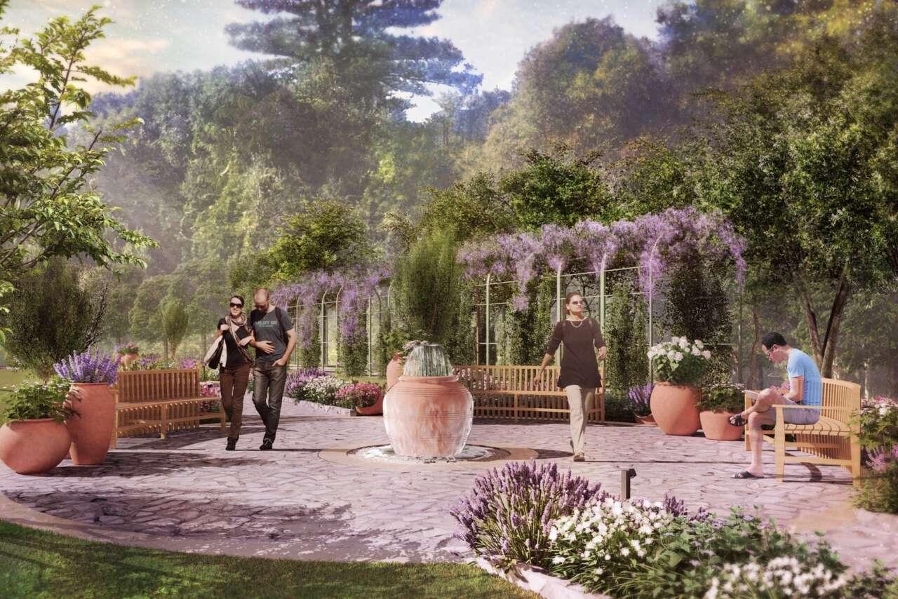 Mon Repos Gardens