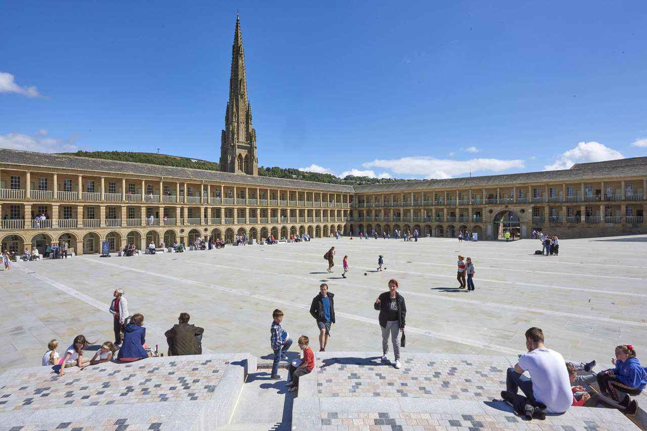 The Piece Hall Transformation Project