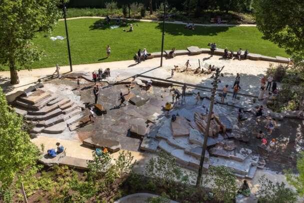 The Park within Elephant Park