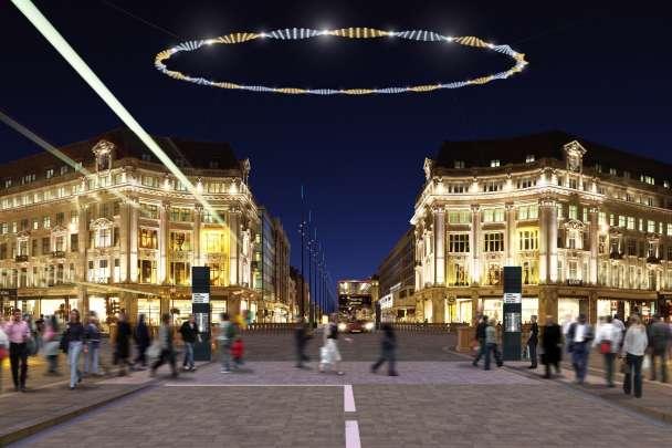 Oxford Street, Regent Street and Bond Street ( ORB )
