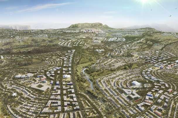 Saudi New City, Saudi Arabia