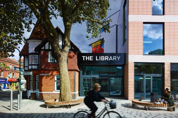 The Library at Willesden Green